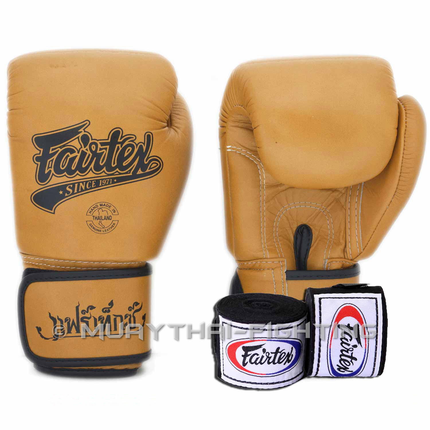 Boking Gloves: Fairtex Muay Thai Kick Boxing Glove Fairtex Classic Gloves