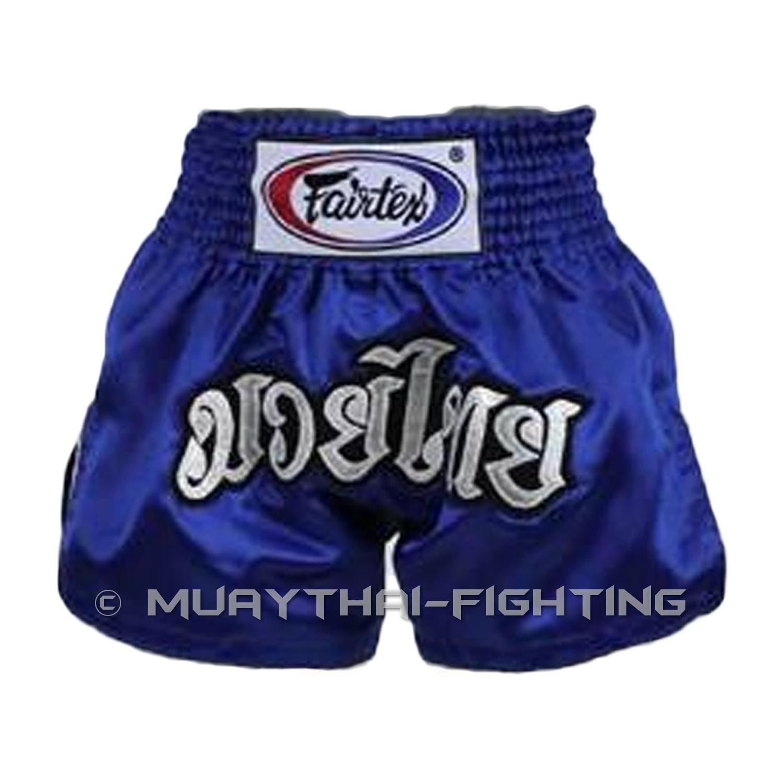 Fairtex-Muay-Thai-Boxing-Kick-Boxing-MMA-Shorts-S-M-L-XL-3L-Black-White-Red-Blue