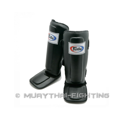 Fairtex-Muay-Thai-Kick-Boxing-Shin-Guard-Protector-Protection-Size-S-M-L-XL