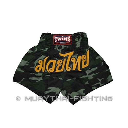 New-Twins-Muay-Thai-Boxing-Shorts-Army-Green-cotton