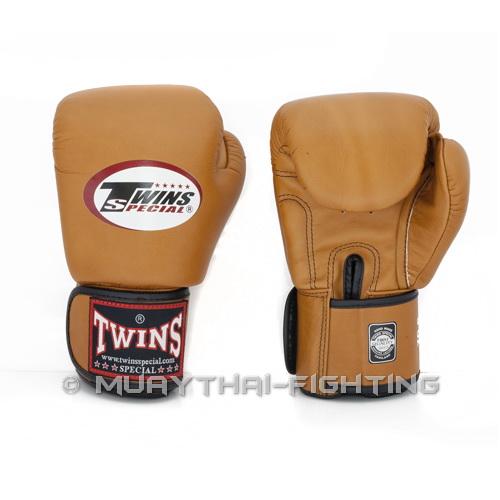 Shiv Naresh Teens Boxing Gloves 12oz: Twins Special Muay Thai K1 MMA Boxing Gloves BGVL-3 Brown