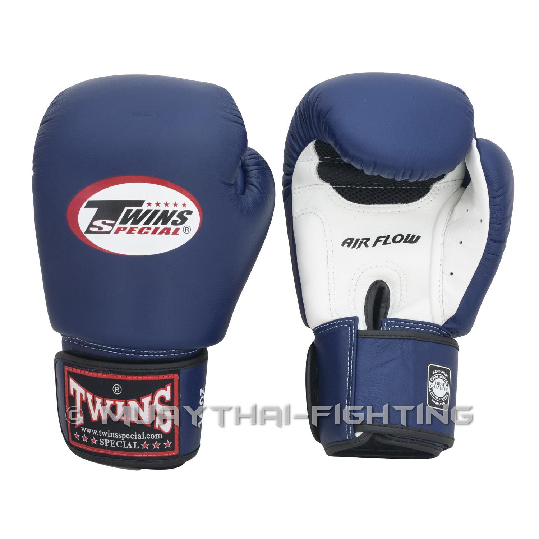 "Shiv Naresh Teens Boxing Gloves 12oz: Twins Special Muay Thai Boxing Gloves ""Air Flow"" BGVLA-2BK"