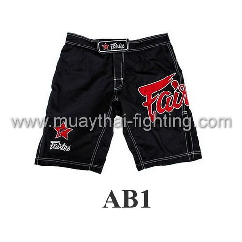 Fairtex MMA Board Shorts Fairtex Logo AB1
