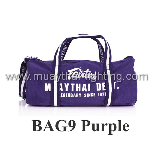Fairtex Barrel Bag New BAG9 Purple