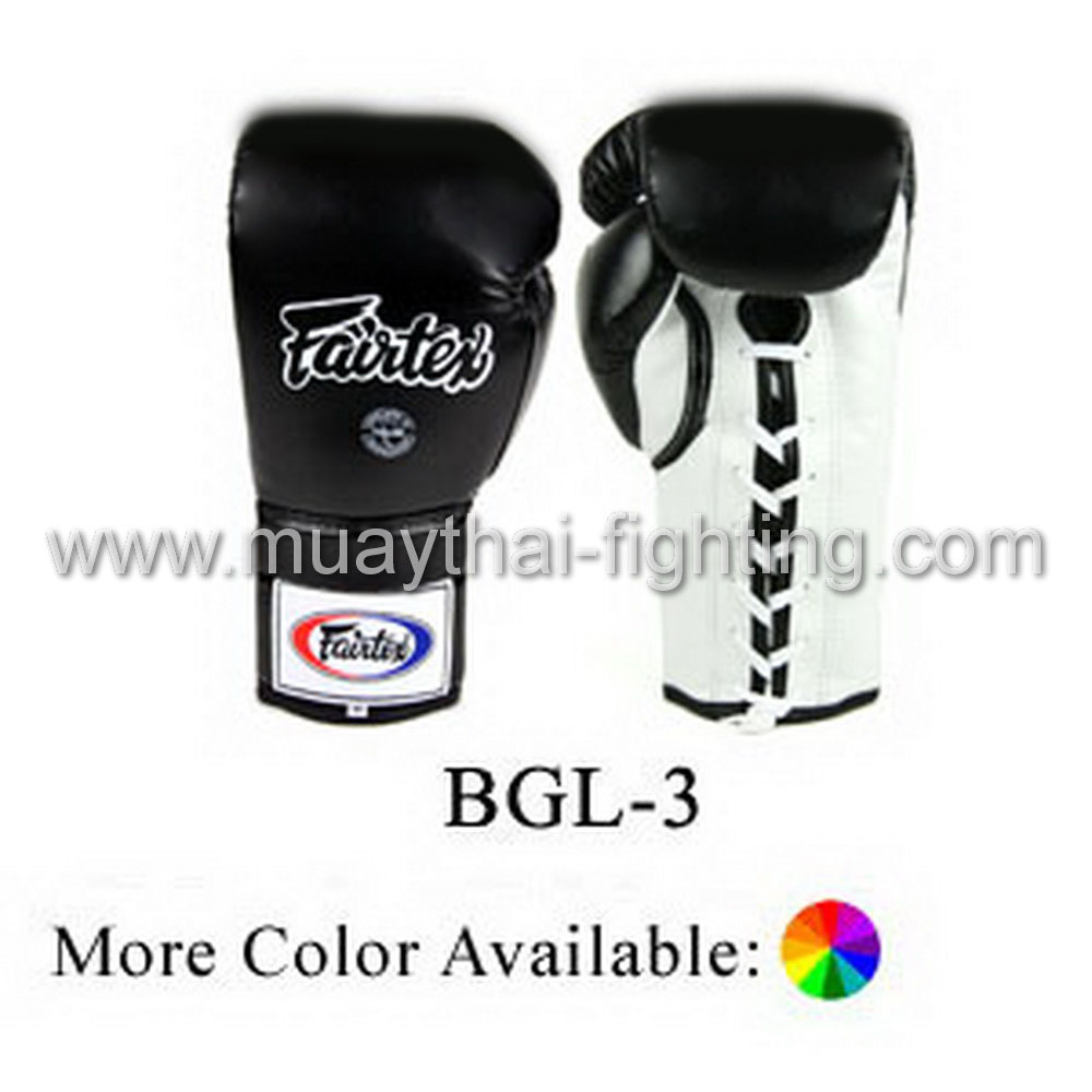 Fairtex Pro Sparring Gloves Locked Thumb Design BGL3