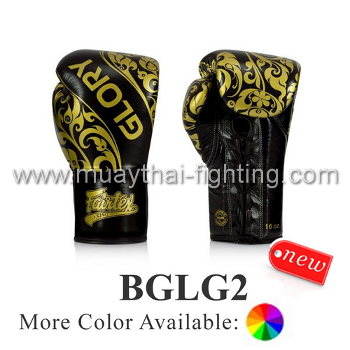 Fairtex Glory Limited Edition Lace up Gloves BGLG2