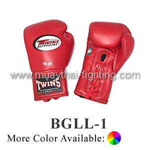 Twins Special Boxing Gloves Lace Closure BGLL-1