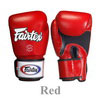 Fairtex Boxing Glove Tight Fit Breathable BGV1(BR)-RED
