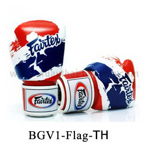 Fairtex Boxing Glove Limited Edition Thai Pride Gloves BGV1T
