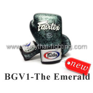 Fairtex Boxing Gloves Limited Edition BGV1 The Emerald