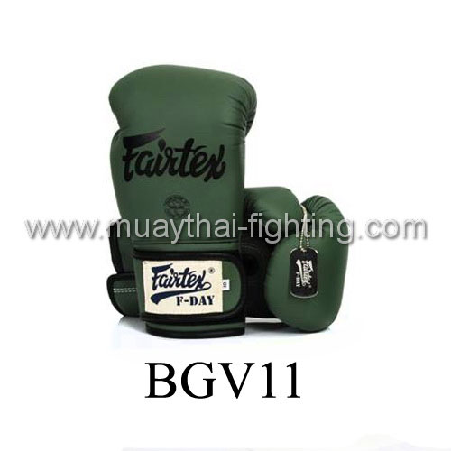 "Fairtex Boxing Gloves ""F Day\"" Limited Edition BGV11"