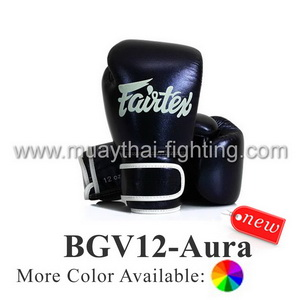 Fairtex Boxing Glove Limited Edition BGV12-AURA Glow in the Dark