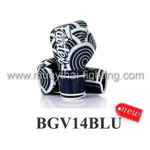 Fairtex Boxing Gloves Micro Fiber JAPANESE ART - BGV14BLU