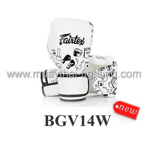 Fairtex Boxing Gloves Micro Fiber STREET ART‐GRAFFITI BGV14W