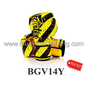 Fairtex Boxing Gloves Micro Fiber GRUNGE ART- BGV14Y