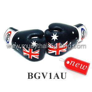 "Fairtex Boxing Gloves Limited Edition ""Australian Day\"" BGV1AU"