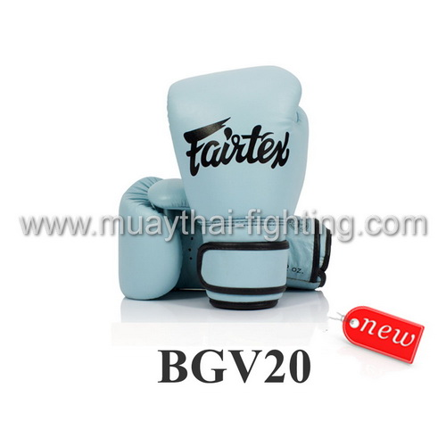 Fairtex Boxing Gloves Baby Blue BGV20