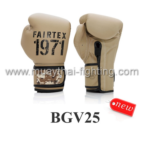 "Fairtex Boxing Gloves Limited Edition ""F Day2"" BGV25"