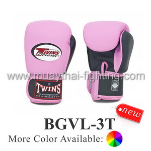 Twins Special Two-Tones Boxing Gloves BGVL-3T
