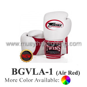 "Twins Special Muay Thai Boxing Gloves ""Air\"" BGVLA-1RD"