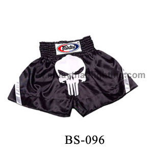 Fairtex Shorts Black with Punisher Logo BS096