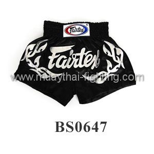 Fairtex Muay Thai Shorts Eternal Silver BS0647