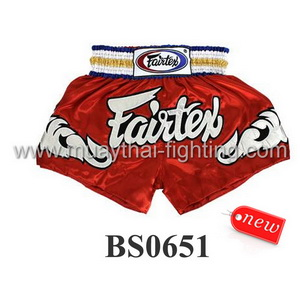 Fairtex Shorts Red BS0651
