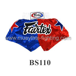 Fairtex Shorts Limited Collection Patriot Blue/Red BS110