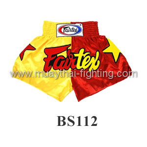 Fairtex Shorts Limited Collection Patriot Yellow/Red BS112