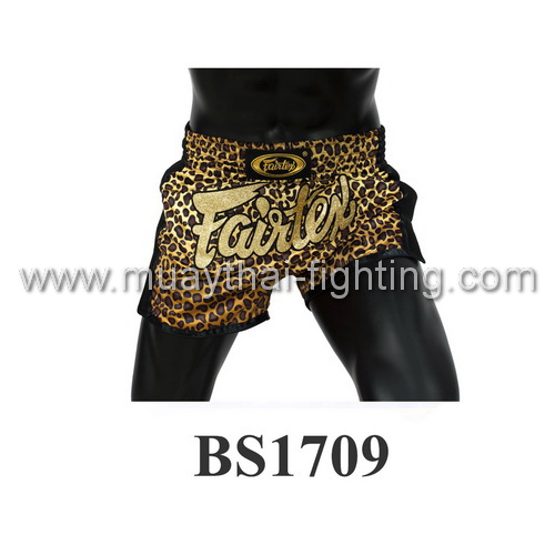 Fairtex Slim Cut Muay Thai Shorts Leopard BS1709