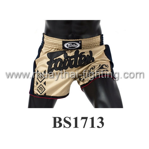 Fairtex Slim Cut Muay Thai Shorts Khaki BS1713