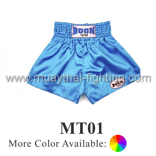 Boon Muay Thai Plain Shorts MT01