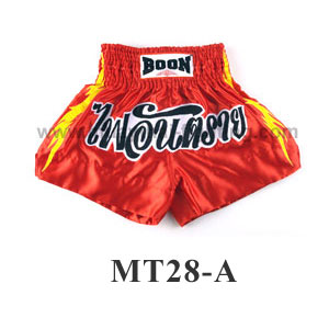 Boon Muay Thai Tribal Yellow Shorts MT28-A