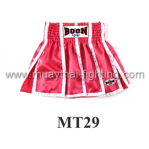 Boon Muay Thai Pink Panels Skirt MT29