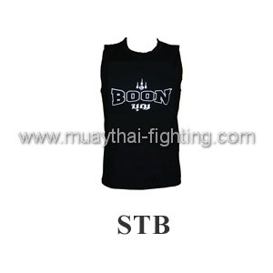 Boon Sport Logo Black Training Vest STB