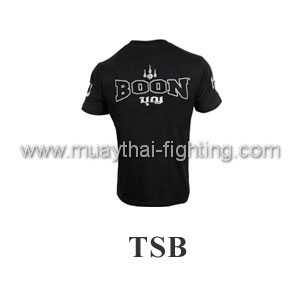 Boon Sport Logo Black T-Shirt TSB