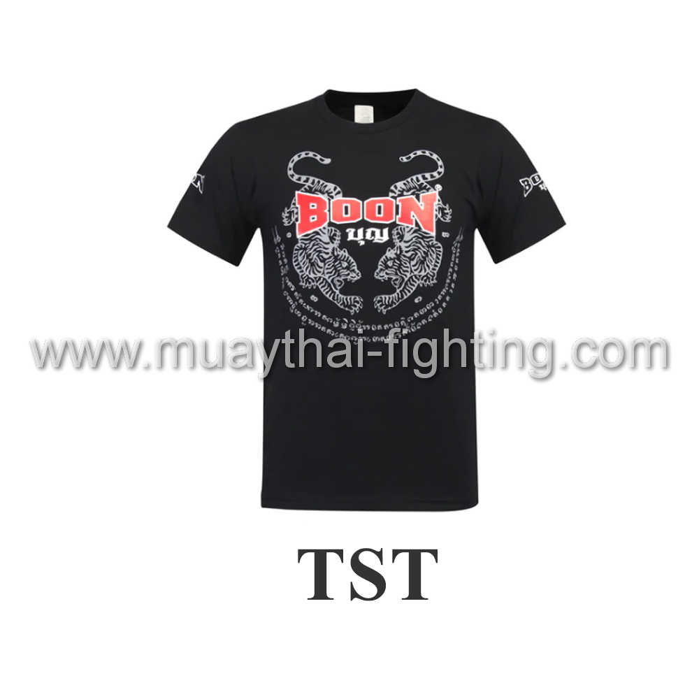 Boon Sport Tiger Black T- Shirt TST
