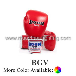 Boon Muay Thai Boxing Glove Velcro BGV