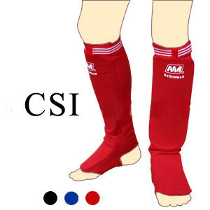 Nationman Elasticated Shin Guards CSI