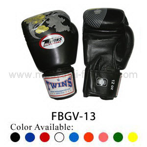 Twins Special Fancy Boxing Gloves Flower Pattern FBGV-13