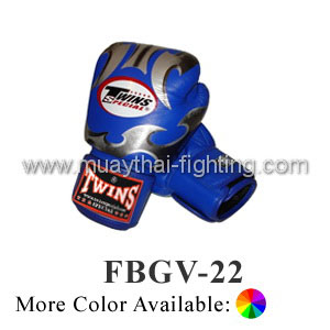 Twins Special Fancy Boxing Gloves Fantasy Pattern FBGV-22