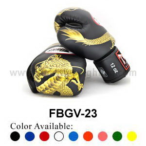 Twins Special Fancy Boxing Gloves Chinese Dragon FBGV-23G
