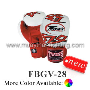 Twins Special Warrior Boxing Gloves Premium Leather FBGV-28