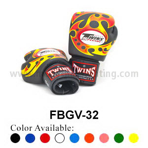 Twins Special Fancy Boxing Gloves Sonic Pattern FBGV-32G
