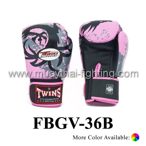Twins Special Fancy Boxing Gloves Tribal Dragon FBGV-36B