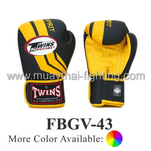 Twins Special Fighting Spirit Boxing Gloves FBGV-43