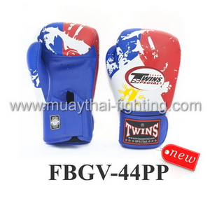 Twins Special Fancy Boxing Gloves Philippines Flag FBGV-44PP
