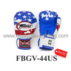 Twins Special Fancy Boxing Gloves United States Flag FBGV-44US