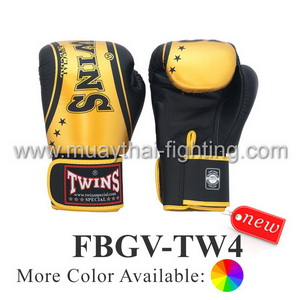 Twins Special Fancy Classic Boxing Gloves FBGV-TW4 Special