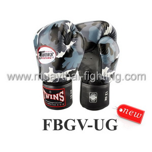 Twins Special Fancy Boxing Gloves Urban Gray FBGV-UG